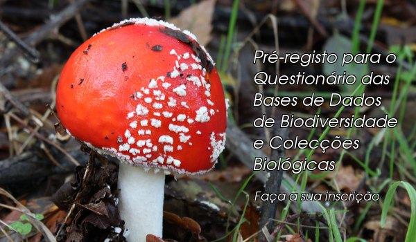 Pré-registo para questionário sobre bases de dados de biodiversidade e Colecções Biológicas