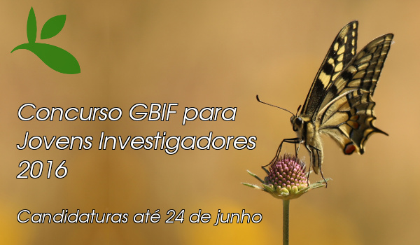 Concurso GBIF Jovens Investigadores 2016