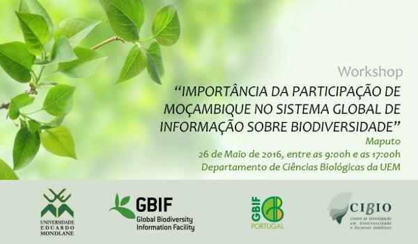 Workshop GBIF Maputo