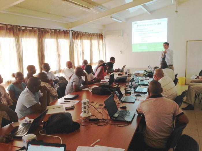 Seminário sobre o GBIF no IBAP, Bissau