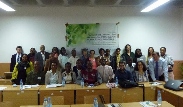 Participantes no workshop em Maputo