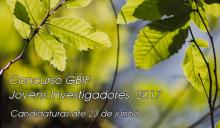 Concurso GBIF Jovens Investigadores 2017